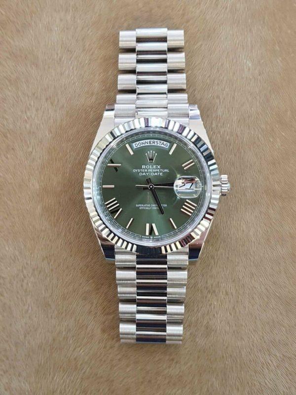 Compra venta Reloj Rolex Day-Date 40 GREEN DIAL
