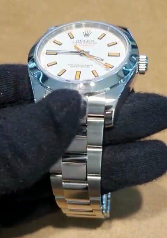 Comprar Rolex Milgauss white Dial