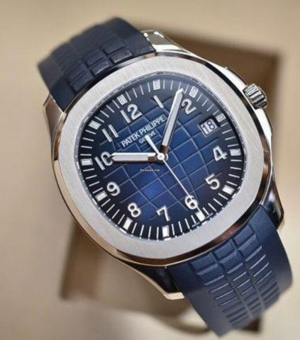 Patek Philippe Aquanaut white gold Elekton Watches