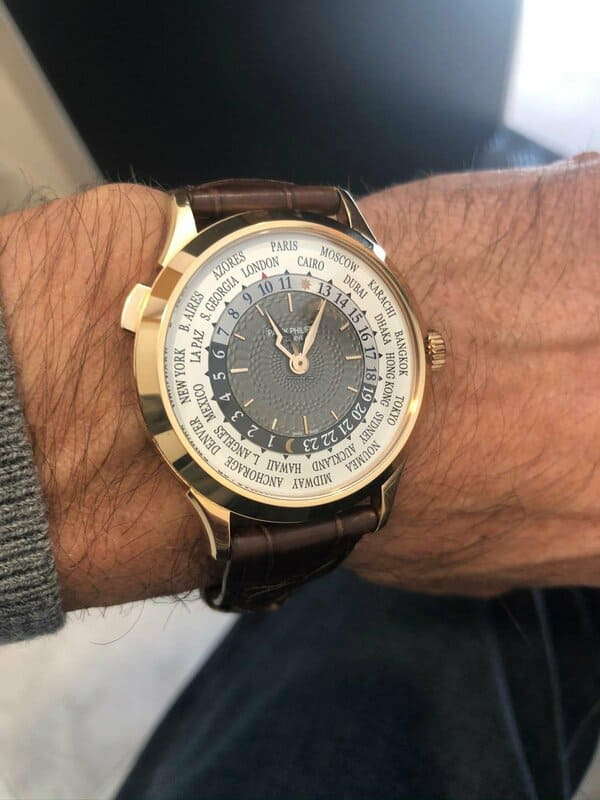 Patek Philippe World Time Elekton Watches