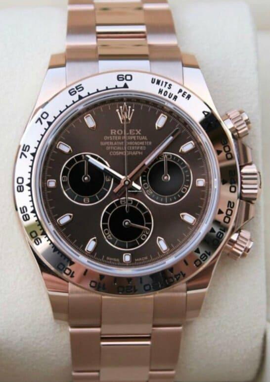 Reloj Rolex Daytona 10/2020 Choco Dial