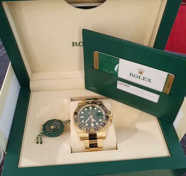 Reloj Rolex GMT-Master II GREEN DIAL