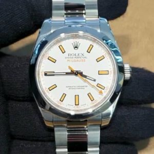 Reloj Rolex Milgauss white Dial