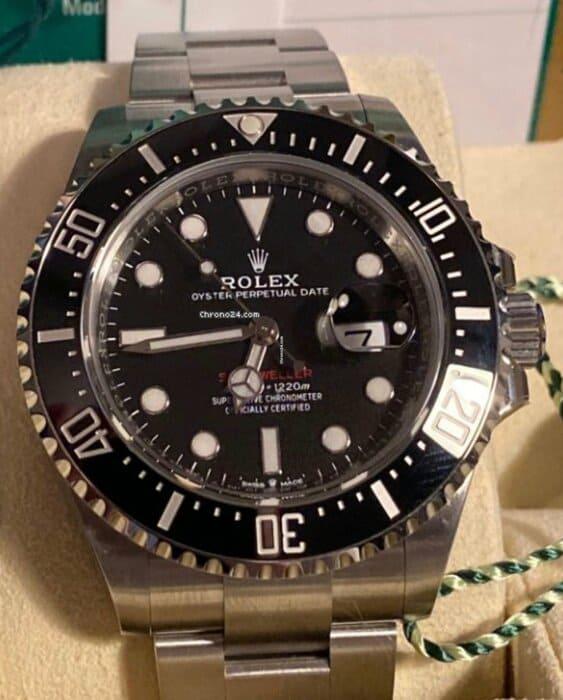 Reloj Rolex Sea-Dweller Red en Elekton Watches