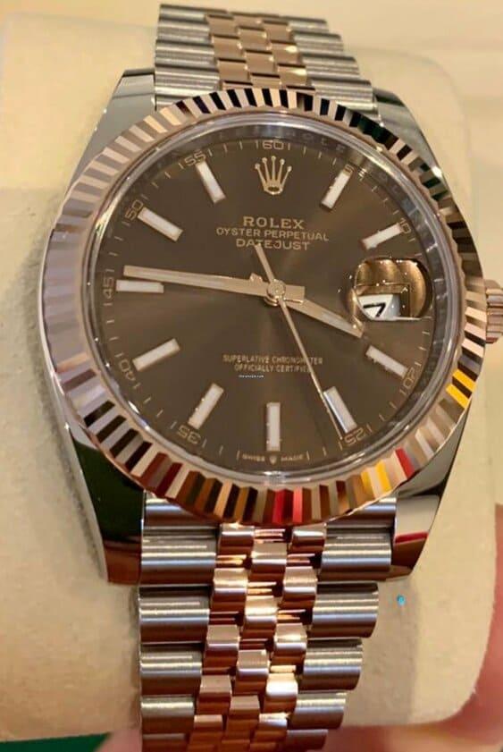 compra venta reloj rolex datajust segunda mano