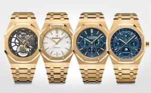 diferentes tipos de relojes de oro