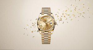 reloj rolex de oro